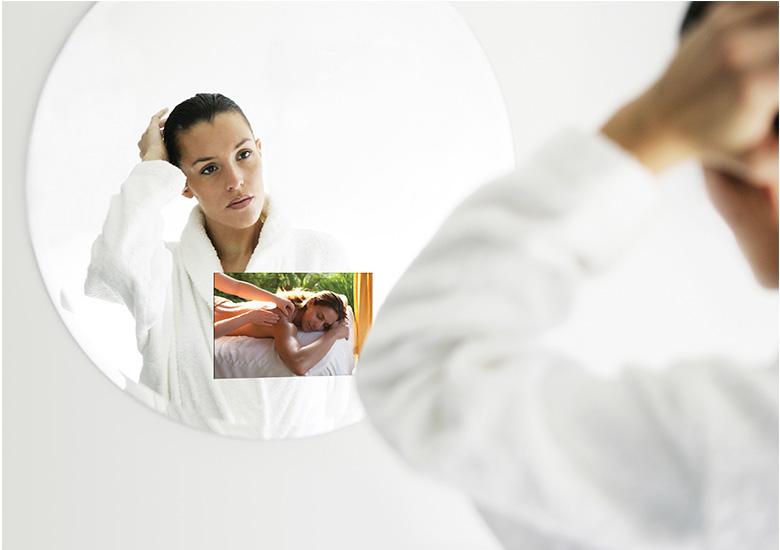 mirror tv spa