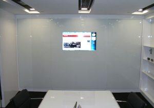 mirror tv conference room