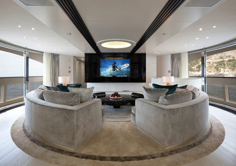 mirror tv yacht